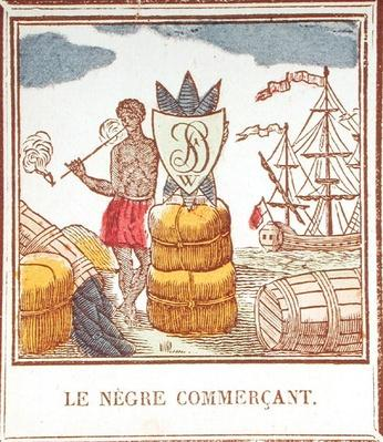 The Black Trader, plate 529 from 'Les Petits Metiers'
