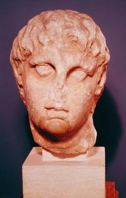 Head of one of the Diadochi or Head of Alexander III