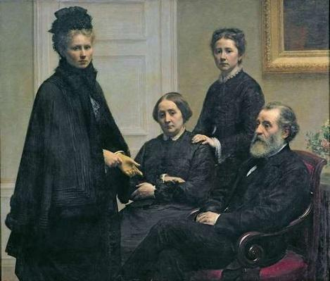 The Dubourg Family, 1878