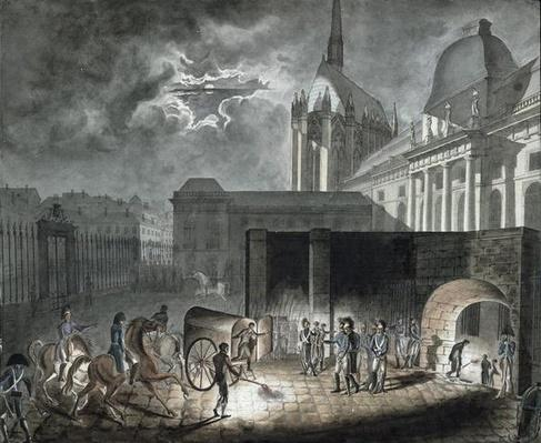 Transferring Prisoners to the Conciergerie, 26th May 1804