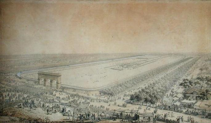 General View of the Champ-de-Mars during the Fete de la Federation, 14th July 1790