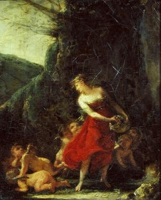 Young Naiad Tickled by the Cupids