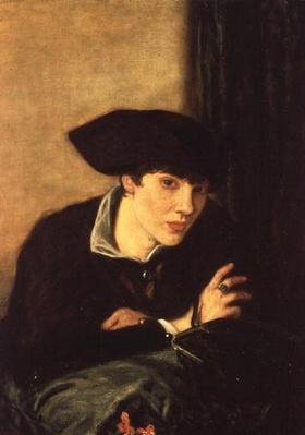 The Lady in a Black Hat, portrait of Miss Rachel Castellan, 1915