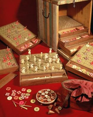 Game of Dauphin lotto invented by Louis XIV