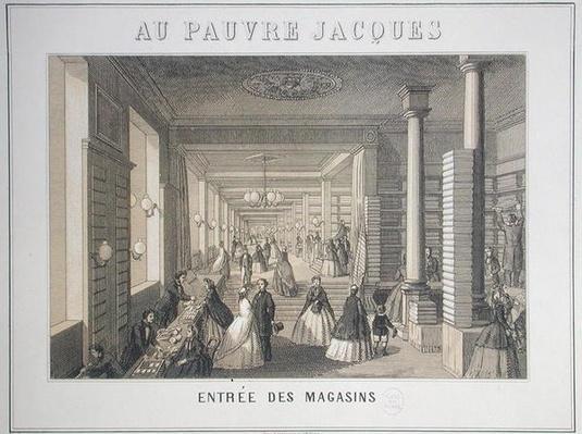 Au Pauvre Jacques: Entrance to the Shops