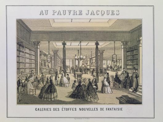 Au Pauvre Jacques: The Fabric Department