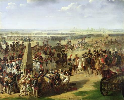 The French Army Pulling Down the Rosbach Column, 18th October 1806, 1810