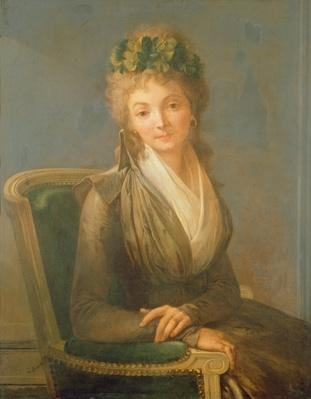 Portrait presumed to be Lucile Desmoulins