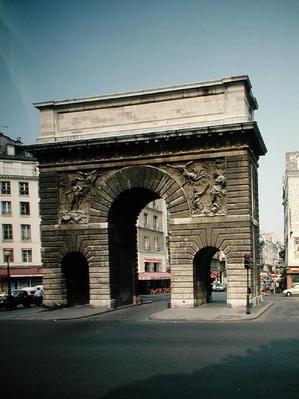 The Porte Saint-Martin, 1674