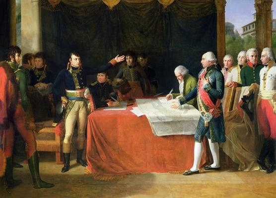 Preliminaries of the Peace Signed at Leoben, 17th April 1797, 1805