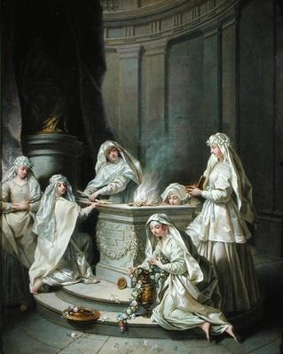Vestal Virgins, 1727