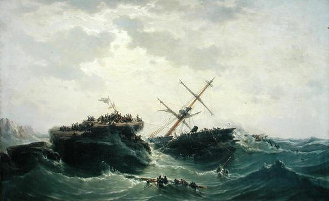 The Sinking of the 'Borysthene', 15th December 1865, 1866
