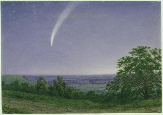 Donati's Comet, Oxford, 7.30pm, 5th October 1858