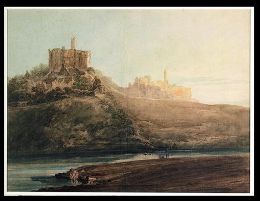 Warkworth Castle, Northumberland, c.1798