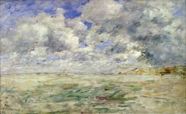 Stormy Sky above the Beach at Trouville, c.1894-97
