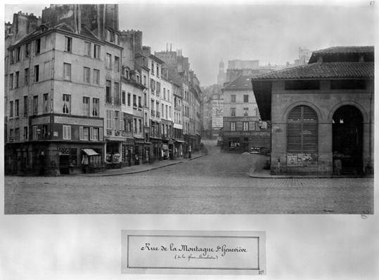 Rue de la Montagne Sainte-Genevieve,