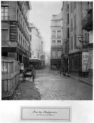 Rue des Bourdonnais