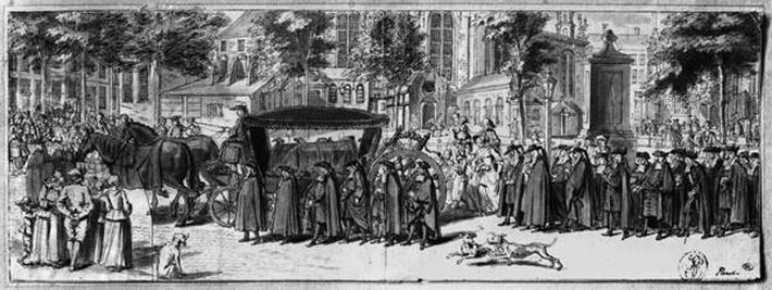 A French funeral