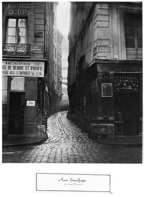 Rue Tirechape, from rue St. Honore, Paris, 1858-78