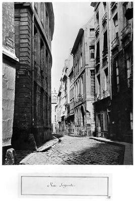 Rue Serpente, Paris, 1858-78