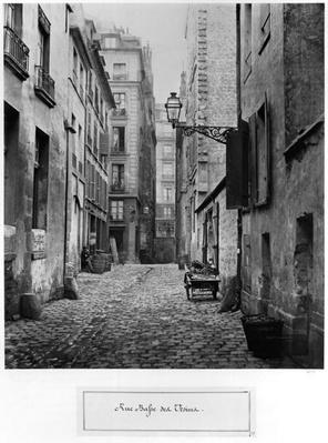 Rue Basse des Ursins, Paris, 1858-78