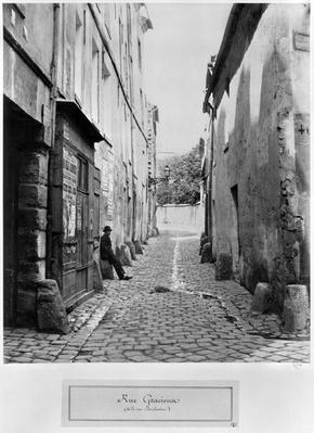 Rue Gracieuse, from rue Daubenton, Paris, 1858-78