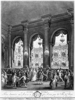 The masked ball, 23rd January 1782