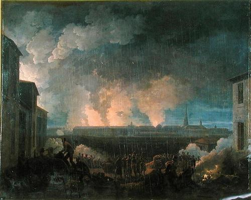The Bombardment of Vienna by the French Army, 11th May 1809