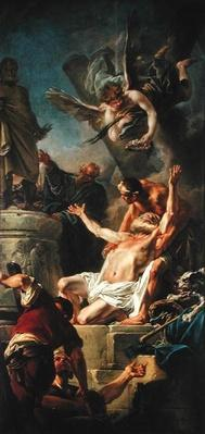 The Martyrdom of St. Andrew, 1758