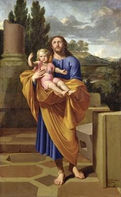 St. Joseph Carrying the Infant Jesus, 1665