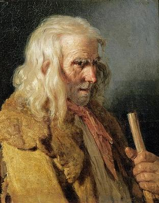 Portrait of a Breton Peasant, 1834