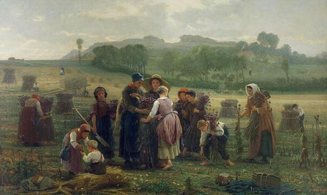 Harvesting Poppies in Picardy, 1860