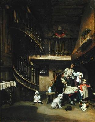 Breton Family, 1842