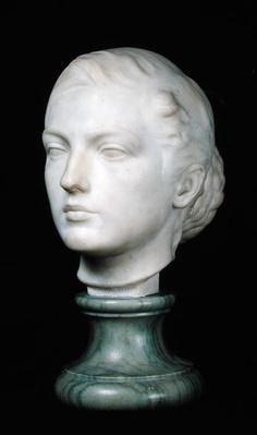 Head of Jane Poupelet