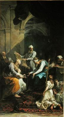 Presentation of the Virgin in the Temple, 1735