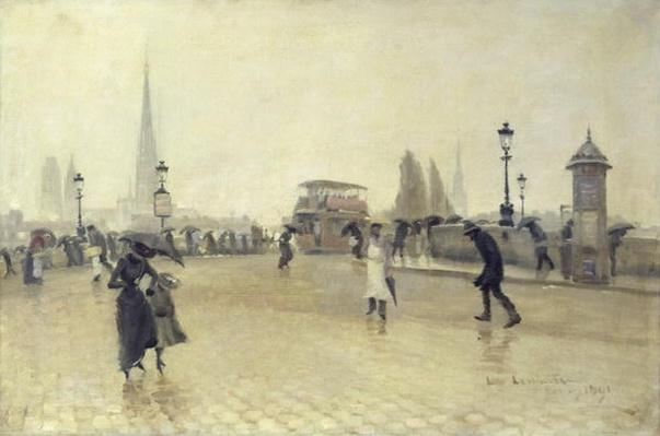 The Pont Corneille, Rouen, 1891
