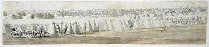 An Encampment in Flanders