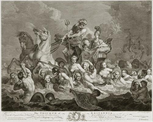 The Triumph of Britannia, c.1765