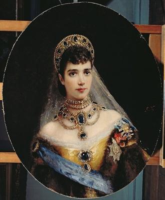 Portrait of Empress Maria Fyodorovna