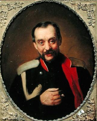 Portrait of the composer Cesar A. Kyui