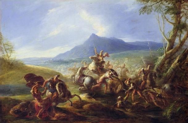 Battle Scene, before 1680
