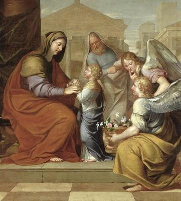 The Education of the Virgin, 1658