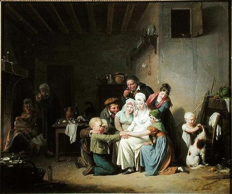 The Game of Pied de Boeuf, c.1824