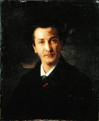 Portrait of Francois Coppee