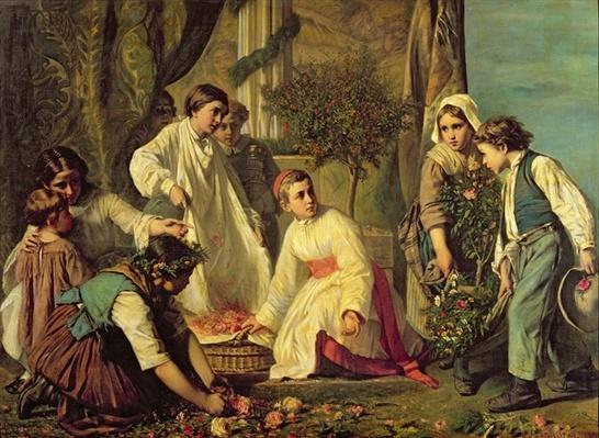 Corpus Christi, 1855