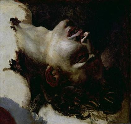 Head of a Dead Young Man, before 1819