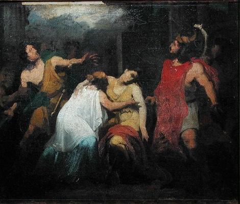 Study for the Death of Lucretia