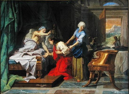 Isaac Blessing Jacob, 1692