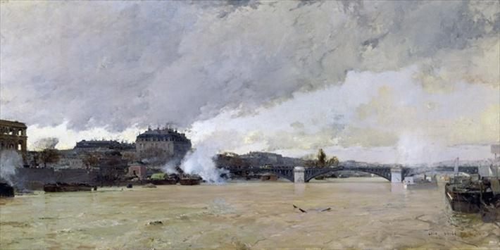 The Flooding of the Seine, c.1903
