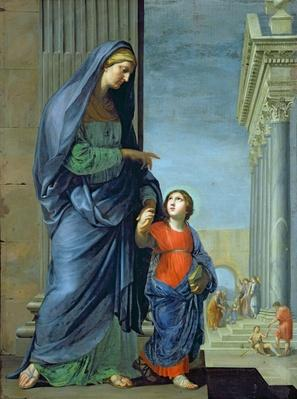 St. Anne Leading the Virgin to the Temple, c.1635-45